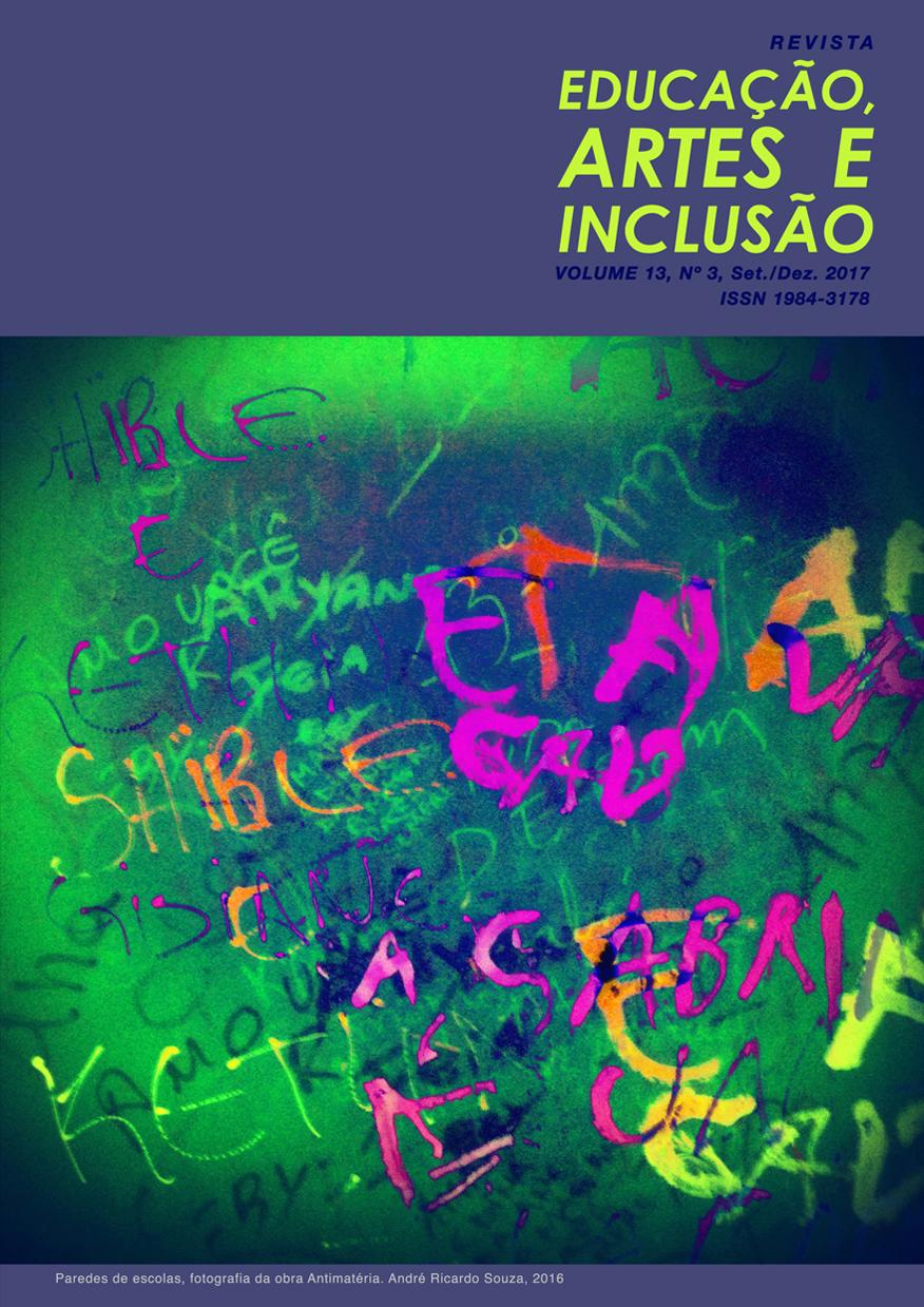 Visualizar v. 13 n. 3 (2017): Revista Educação, Artes e Inclusão