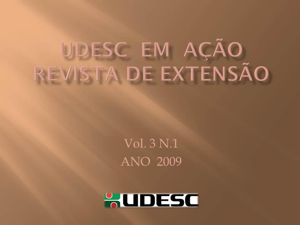 Visualizar v. 3 n. 1 (2009): UDESC em AÇÃO