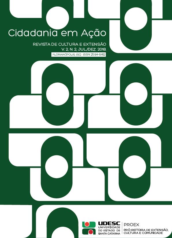 Visualizar v. 2 n. 2 (2018): Cidadania em Ação: Revista de Extensão e Cultura