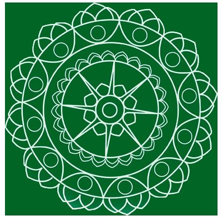 Nosso Logotipo: Uma Mandala