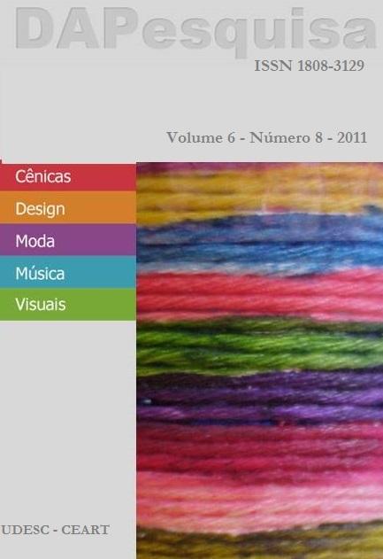 Visualizar v. 6 n. 8 (2011)