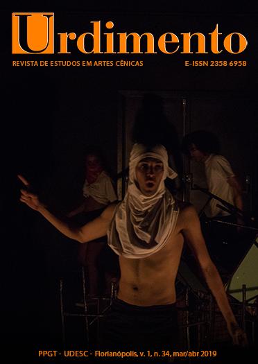 Visualizar v. 1 n. 34 (2019): Pedagogia das Artes Cênicas: desafios e resistências