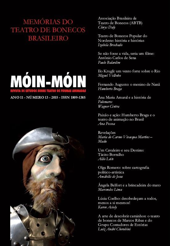 Visualizar v. 1 n. 13 (2015): Memórias do Teatro de Bonecos Brasileiro