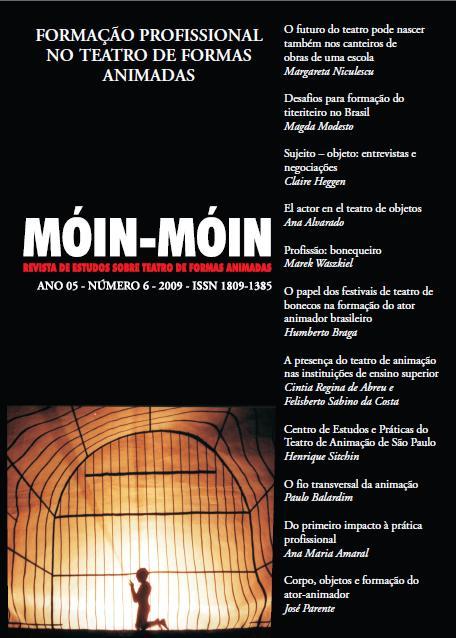 Visualizar v. 1 n. 06 (2009): Formação Profissional no Teatro de Formas Animadas