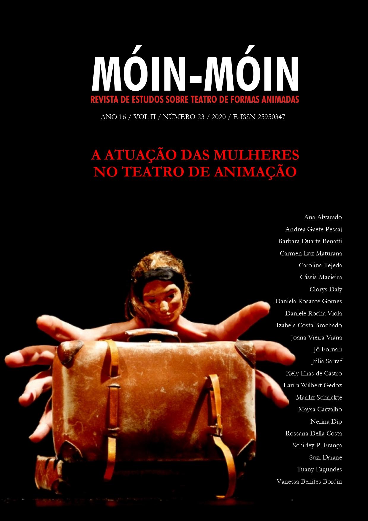 Foto da capa: Espetáculo Desde el azur, de Inés Pasic. Fotógrafo: Jesús Atienza.