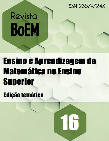 Visualizar v. 8 n. 16 (2020): Edição Temática: Ensino e aprendizagem da matemática no Ensino Superior