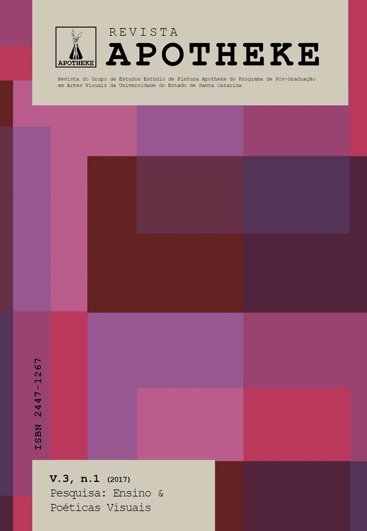 Visualizar v. 3 n. 1 (2017): Pesquisa: Ensino & Poéticas Visuais