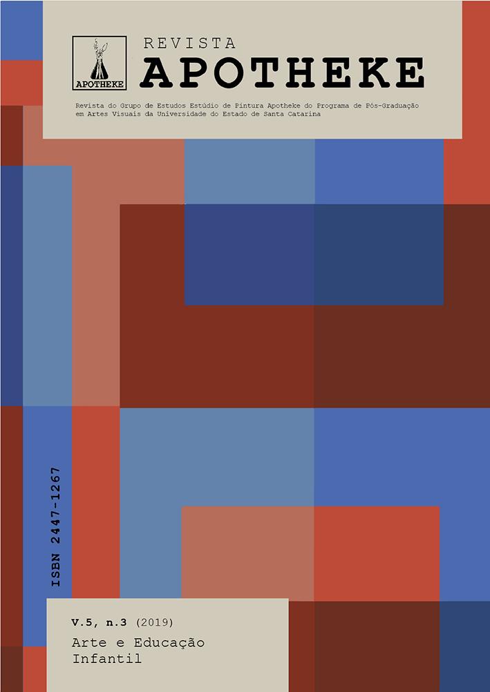 Visualizar v. 5 n. 3 (2019): Arte e Educação Infantil