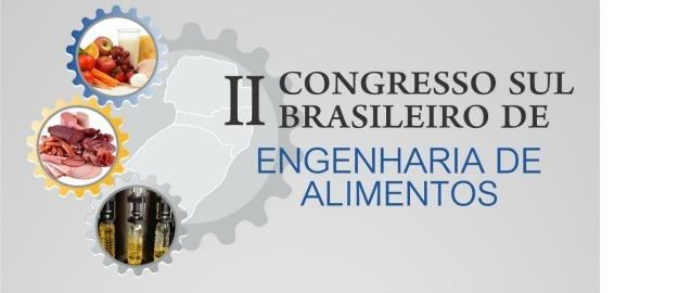 A segunda edição da Revista CSBEA contempla os trabalhos do II Congresso Sul Brasileiro de Engenharia de Alimentos realizado em Blumenau-SC de 04 a 07 de Outubro de 2015, organizado pelo curso de graduação em Engenharia de Alimentos da Universidade Region